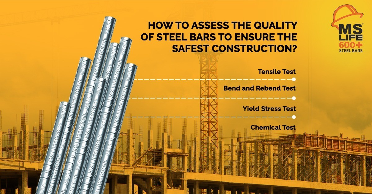 How To Assess The Quality Of Steel Bars To Ensure The Safest Construction?