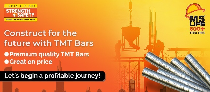 Construct for the future with TMT Bars