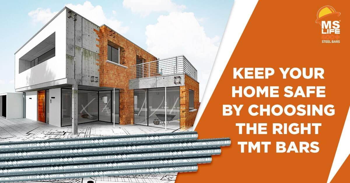 Keep Your Home Safe by Choosing the Right TMT Bars